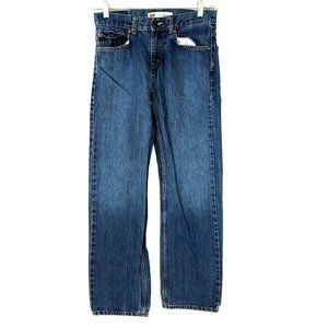 Levis 550 Girls Relaxed Leg Jeans Blue Medium Wash
